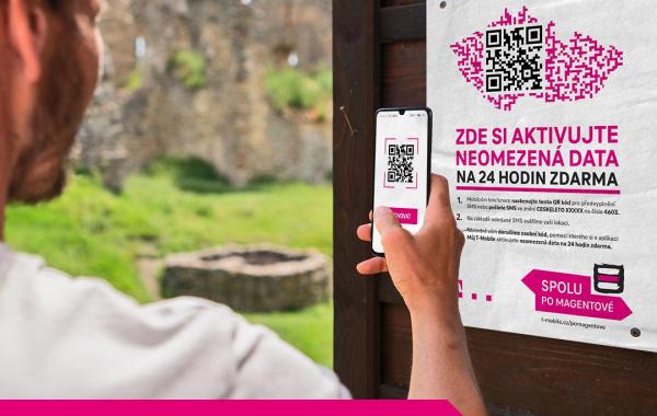 Kampaň České léto s T-Mobile - neomezená data na 24 hodin