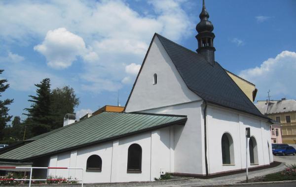 Hledáme průvodce kaple svaté Barbory