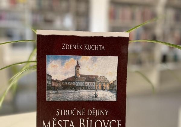 Nová kniha: STRUČNÉ DĚJINY MESTA BÍLOVCE OD ZALOŽENÍ DO ROKU 2020